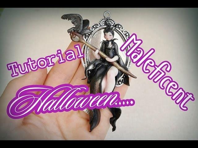DIY.TUTORIAL.  Maleficent Polimerclay