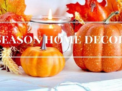 DIY - Season Home Decor - Autumn & Halloween are coming.  II Chéri