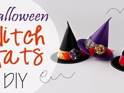 Tuto: Cappelli da strega di Halloween - ENG SUBS Halloween Witch Hats DIY