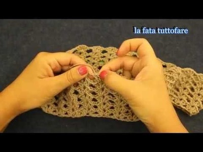 Tutorial  poncho a mantella poncho crochet