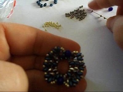 Tutorial orecchini.earrings Foglia