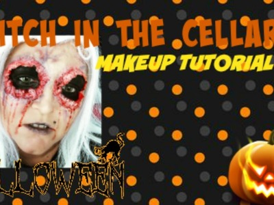 WITCH IN THE CELLARR - MAKEUP TUTORIAL - HALLOWEEN