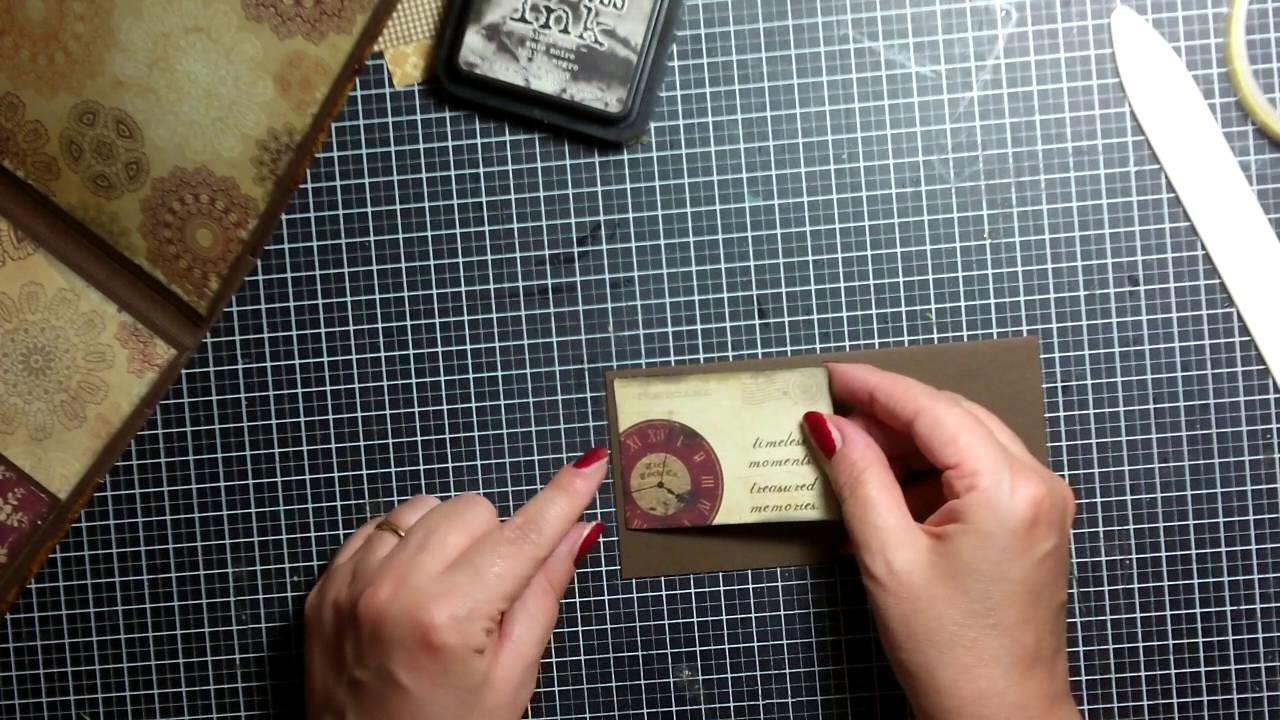 Impariamo a fare un mini album (parte 3)- Scrapbooking Tutorial | Scrapmary