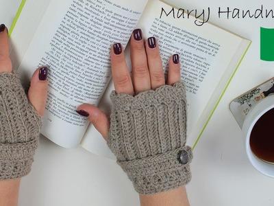 Tutorial uncinetto: guanti senza dita