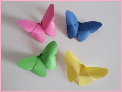 Farfalla di carta Origami || Mami Crea