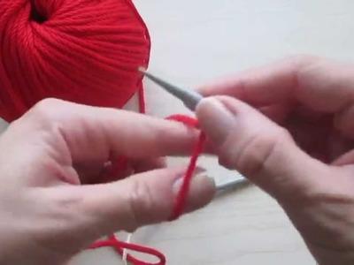 Ferri Circolari (2) - Tecnica continentale - Avviare le maglie