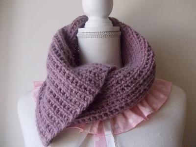 Maglia | Ferri Circolari |  Sciarpa | Scaldacollo | Knitting Scarf