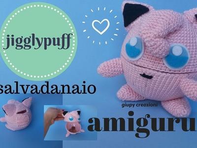 Pokemon JIGGLYPUFF SALVADANARO AMIGURUMI