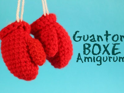 Mini Guantoni Boxe Amigurumi | World of amigurumi