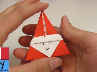 Origami Dolce San Nicola fai da te | Bellissimi Origami per il girono di San Nicola | Babbo Natale