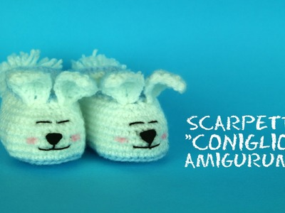 Scarpette coniglietto Amigurumi | World Of amigurumi