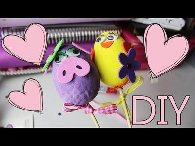 Decorare Uova Per Pasqua! Sfida con Brunella!!! ~ DIY & Lavoretti! ❤