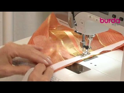 Come confezionare una tenda a vetro