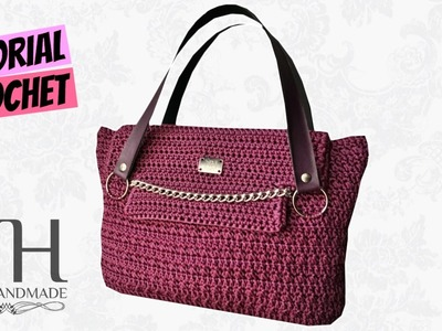 "Tutorial uncinetto borsa ""Vayne"" 