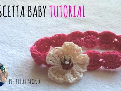 Tutorial - Fascetta baby 0-3 mesi