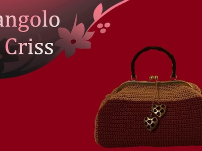"Borsa all'uncinetto ""New Retrò"" -  progetto a 4 mani con . ."