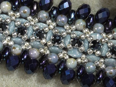 "Tutorial Bracelet ""Shining Promenade"" - August 2016"