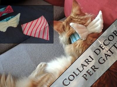 [TUTORIAL] Collarini per gatti fai da te - DIY cat's collars