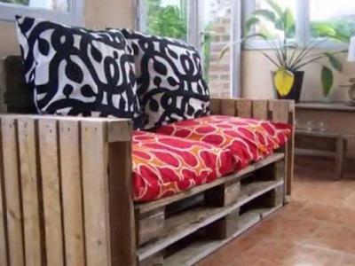 Le 30 migliori idee mobili pallet per il vostro soggiorno