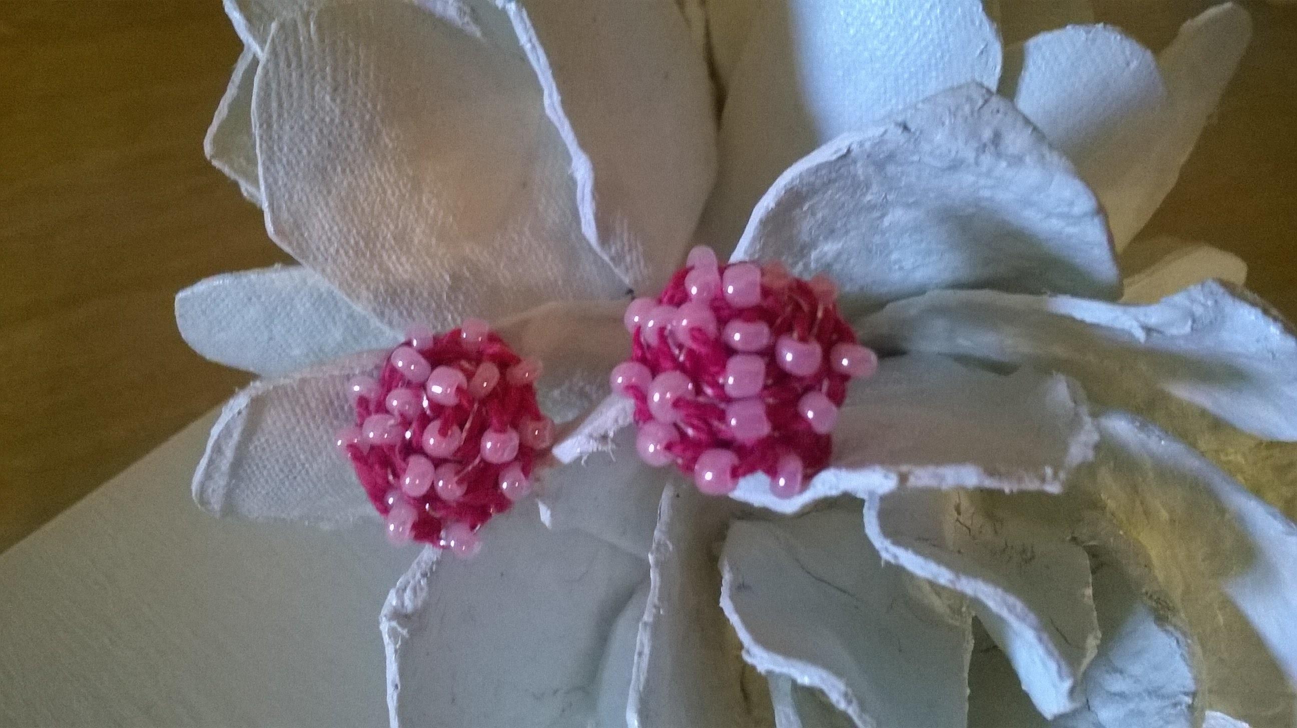 Orecchini Con Perline Alluncinetto