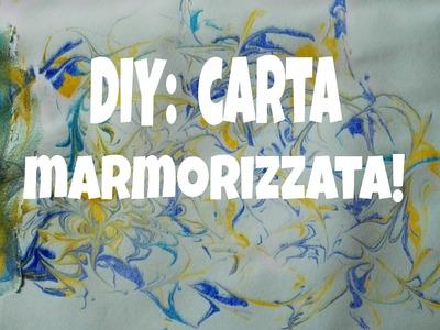 DIY: carta marmorizzata! ||heifrà