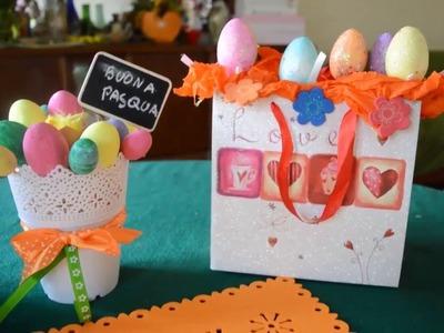 HOME DECOR || Auguri di Buona Pasqua 2016 || DIY  addobbi pasquali