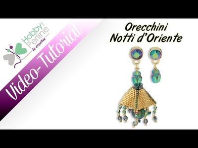 Orecchini Notti d'Oriente | TUTORIAL - HobbyPerline.com
