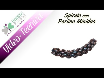 Spirale con Perline Miniduo | TECNICA - HobbyPerline.com