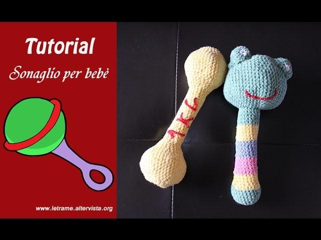 Tutorial Sonaglio per bebè all uncinetto (sonajas para bebè ganchillo)2.2