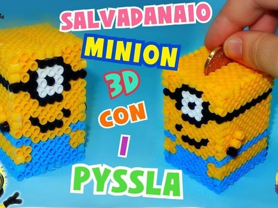 Tutorial Salvadanaio MINION con i PYSSLA 3D || Iolanda Sweets