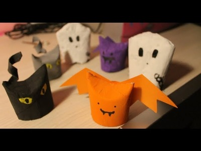 Tutorial Decorazioni per Halloween - Halloween Decorations :3