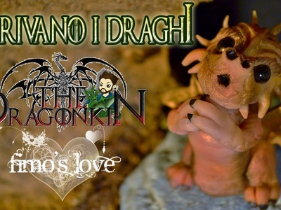 Draghi in fimo - Fantasy Polymer clay dragons