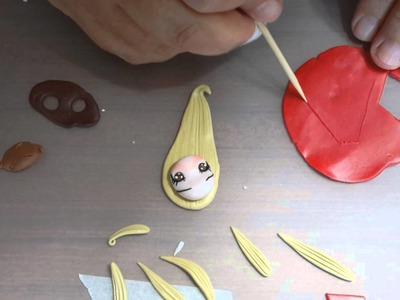 Creazioni Rec - Tutorial bambola natalizia