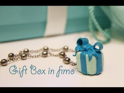 Pacchetto regalo Tiffany in fimo (tutorial)