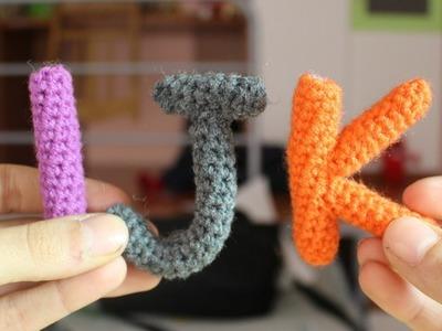 Alfabeto Amigurumi ● Lettere I, J e K | World Of Amigurumi