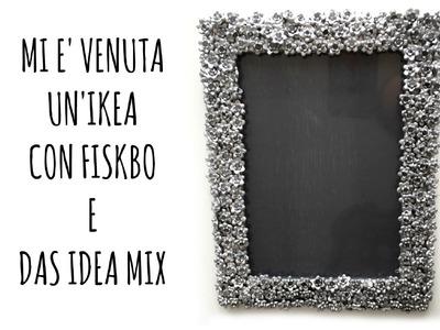 """Mi è venuta """"un'IKEA""""con la Cornice Fiskbo e DAS IDEA MIX (Decorazione)Arte per Te"""
