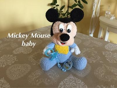 Mickey Mouse-Topolino baby Amigurumi(tutorial)