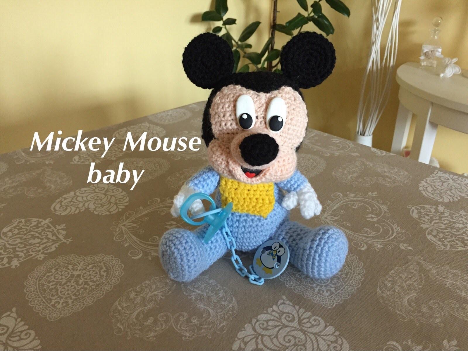 Mickey Mouse Amigurumi Schema : Mickey Mouse-Topolino baby Amigurumi(tutorial), My Crafts ...