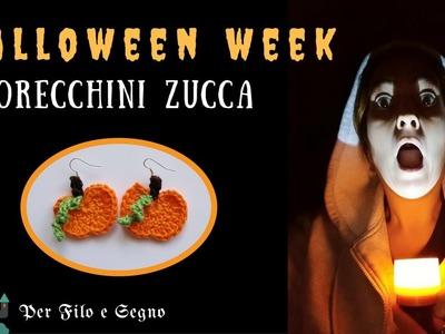 Speciale Halloween - Oreccchini zucca