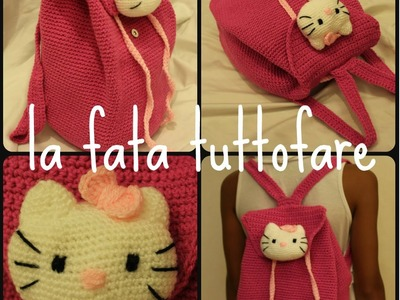 Tutorial: zaino Hello Kitty (parte 2)