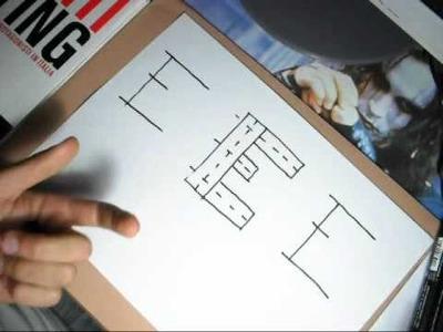 1) Tutorial: COME FARE GRAFFITI how to make graffiti (struttura) parte1.2