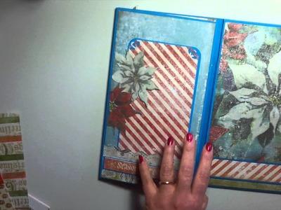 Flip Flap Natalizio e come eseguirlo - Scrapbooking Tutorial | Scrapmary