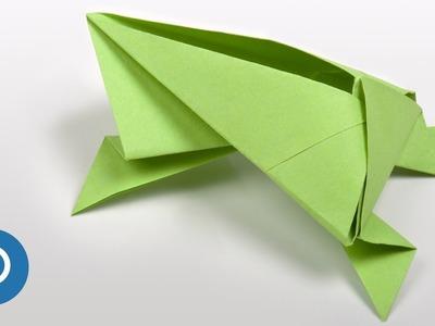 Origami rana facili : passo a passo