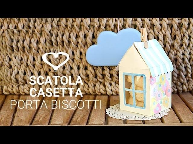 Tutorial: Come realizzare una scatola casetta porta dolcetti - La Figurina