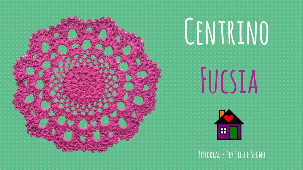 Idee per la casa - Centrino fucsia