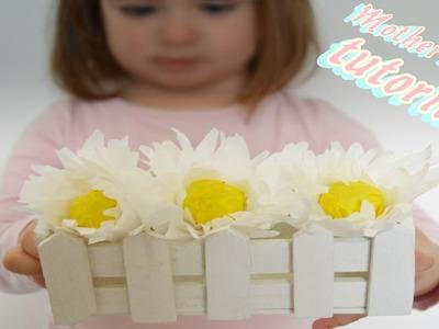 Mother's day tutorial - margherita con lella- lecca lavoretto festa della mamma