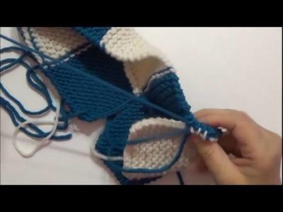 Scaldapiedi di lana 2 DI 2