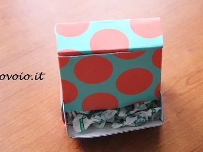 Scatolina dispenser di caramelle