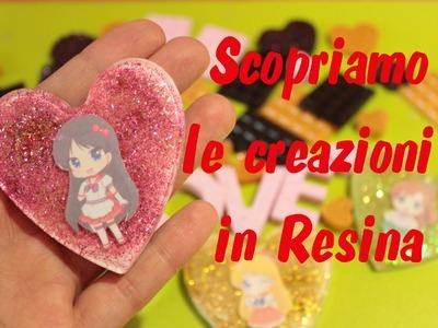 Scopriamo insieme le creazioni in resina #2 + Nuovi Stampi | Sissy's Creations