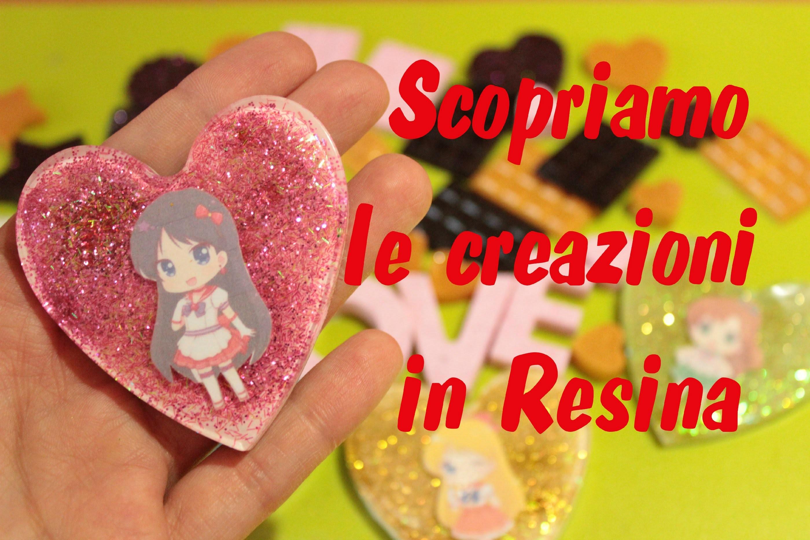 Scopriamo insieme le creazioni in resina #2 + Nuovi Stampi   Sissy's Creations